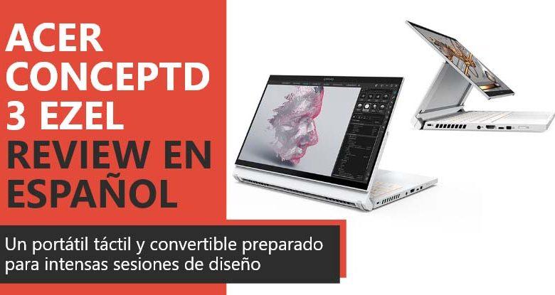 Photo of Acer ConceptD 3 Ezel Review en Español (análisis completo)