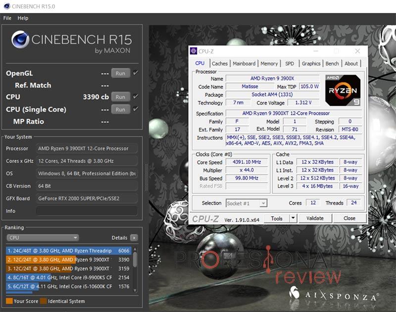 AMD Ryzen 9 3900XT Overclocking