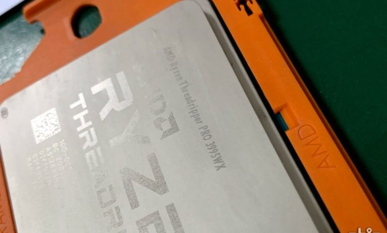 Photo of AMD Ryzen Threadripper PRO 3995WX, se filtra imagen del chip