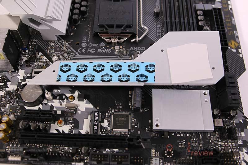 ASRock B460M Steel Legend SSD