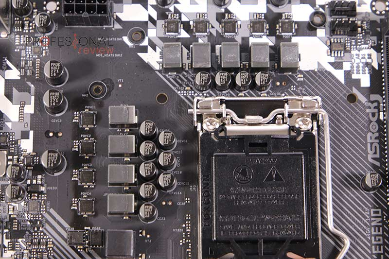 ASRock B460M Steel Legend VRM