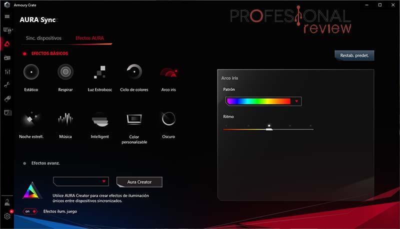 Arctic BioniX P120 A-RGB Software