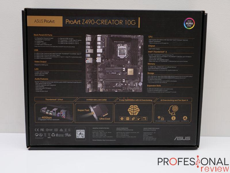 Asus ProArt Z490 Creator 10G Review