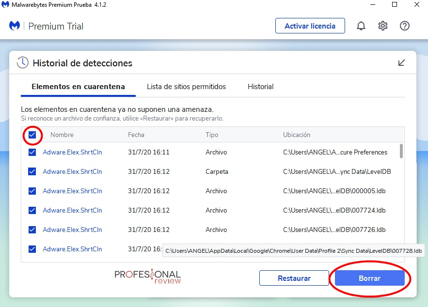 Cómo usar y configurar malwarebytes anti-malware