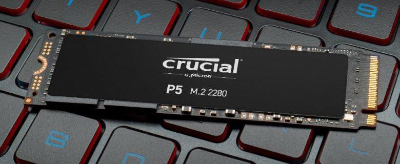 Photo of Crucial P5 SSD NVMe ya esta disponible con capacidades de hasta 2 TB
