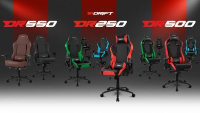 Photo of Drift DR250, DR500 y DR550: 3 sillas para conquistar el escritorio