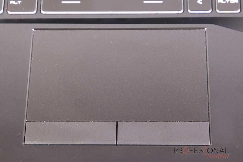 MSI GL75 Leopard 10SEK Touchpad