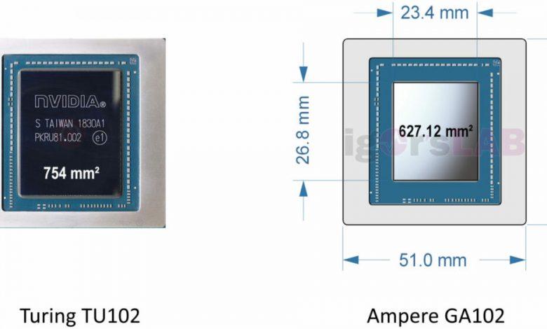 Photo of NVIDIA Ampere tendría un troquel de 627 mm² fabricado por Samsung