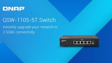 Photo of QNAP presenta su nuevo switch QSW-1105-5T 2.5GbE