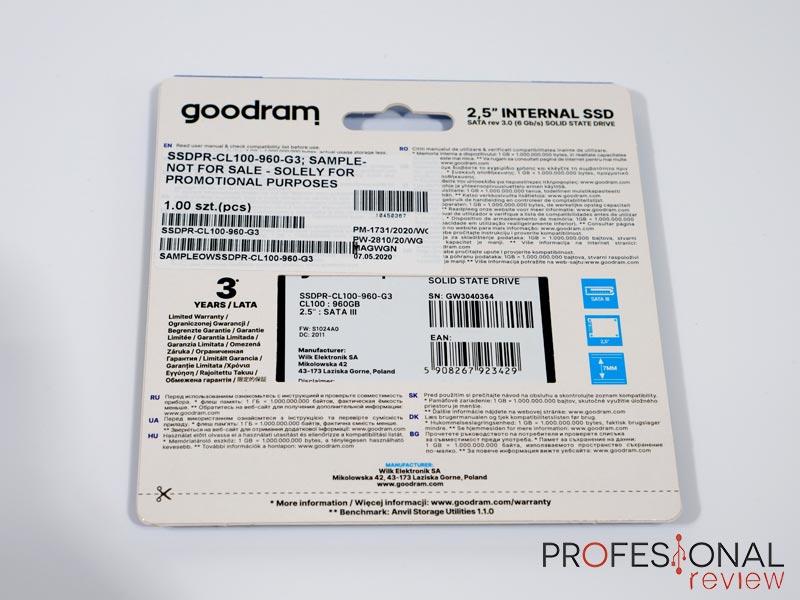 GoodRam CL100 review