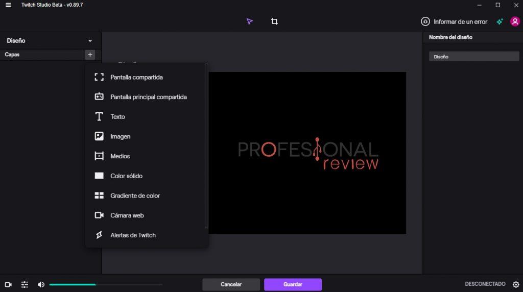mejores aplicaciones streaming twitch studio