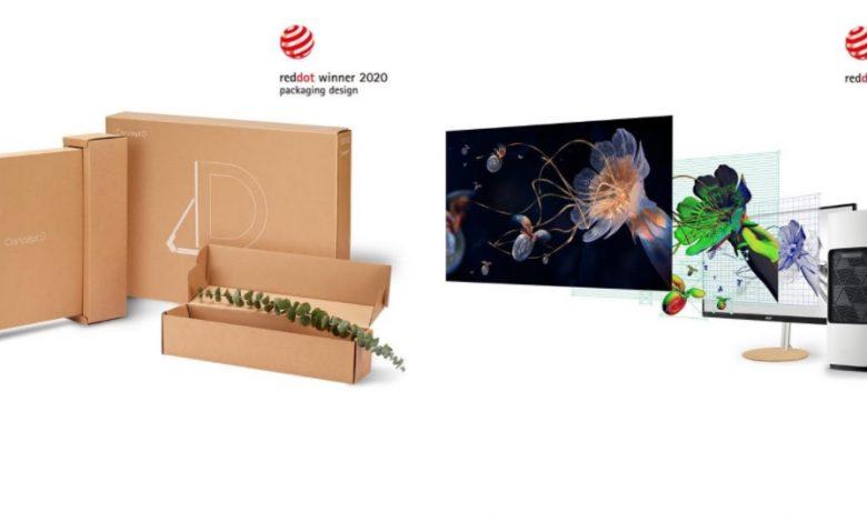 Photo of Acer recibe 2 premios Red Dot Awards 2020 por diseño de marca y comunicación
