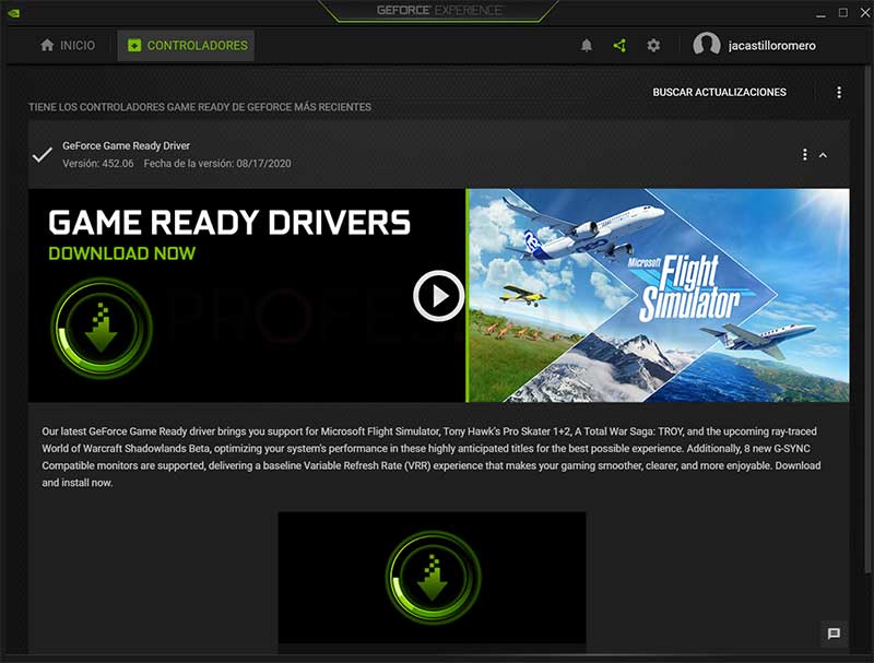Actualizar driver Nvidia paso05