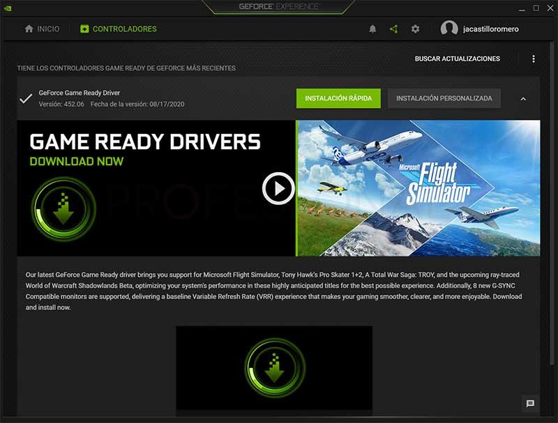Actualizar driver Nvidia paso06