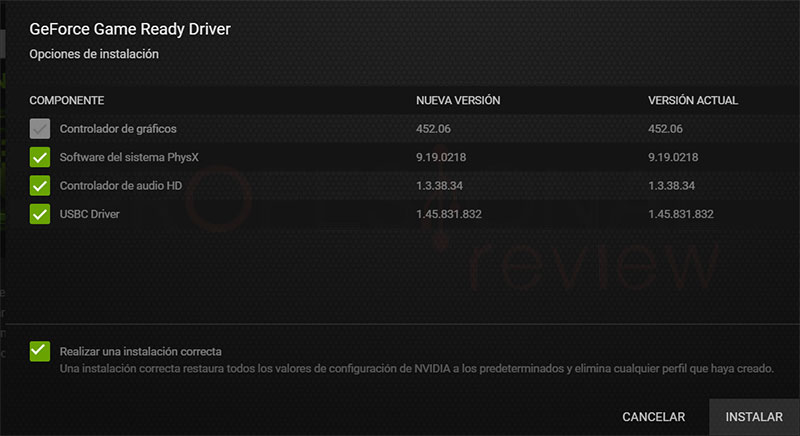 Actualizar driver Nvidia paso10