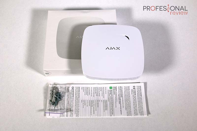 Ajax Alarma Review FireProtect