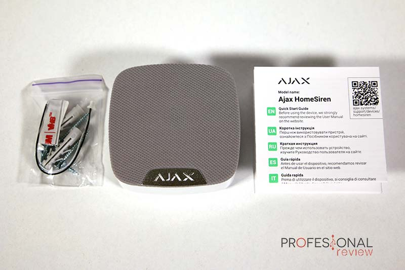 Ajax Alarma Review HomeSiren