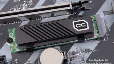 Photo of Alphacool HDX Pro Air, disipador pasivo para unidades SSD M.2