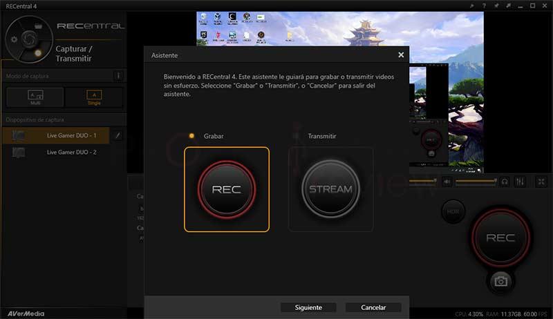 AverMedia Live Gamer DUO Software