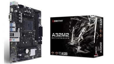 Photo of BIOSTAR A32M2, nueva placa base de gama baja para Ryzen