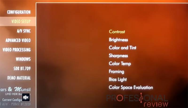 Calibrar proyector paso06