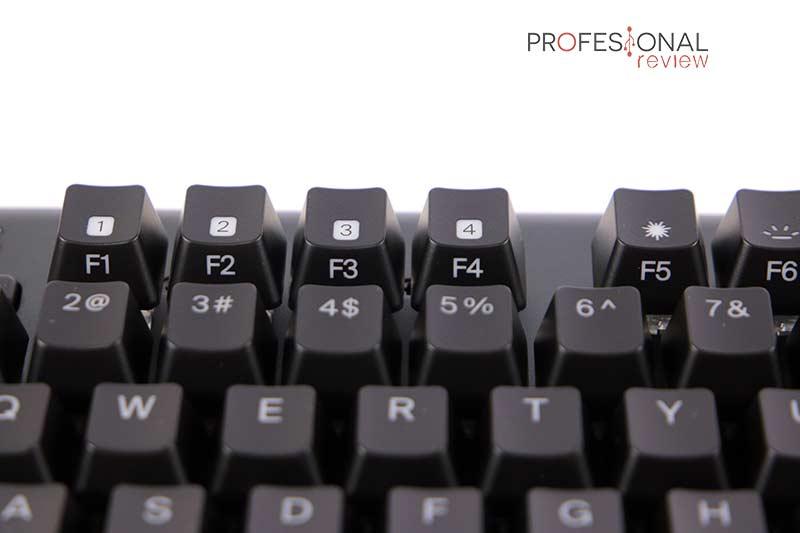 Fnatic miniStreak Speed Keycaps