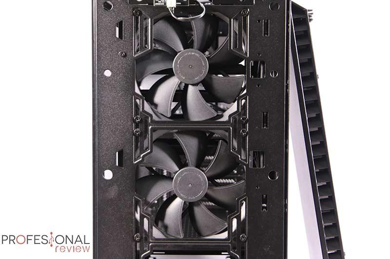 Fractal Design Vector RS Ventilación