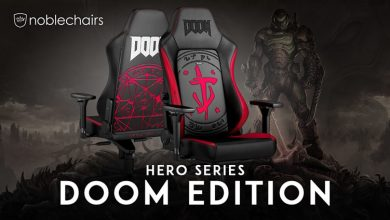 Photo of Caseking presenta la silla HERO Gaming Chair – DOOM Edition