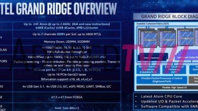 """Photo of Intel """"Grand Ridge"""" se filtra con memoria DDR5 y PCIe 4.0"""