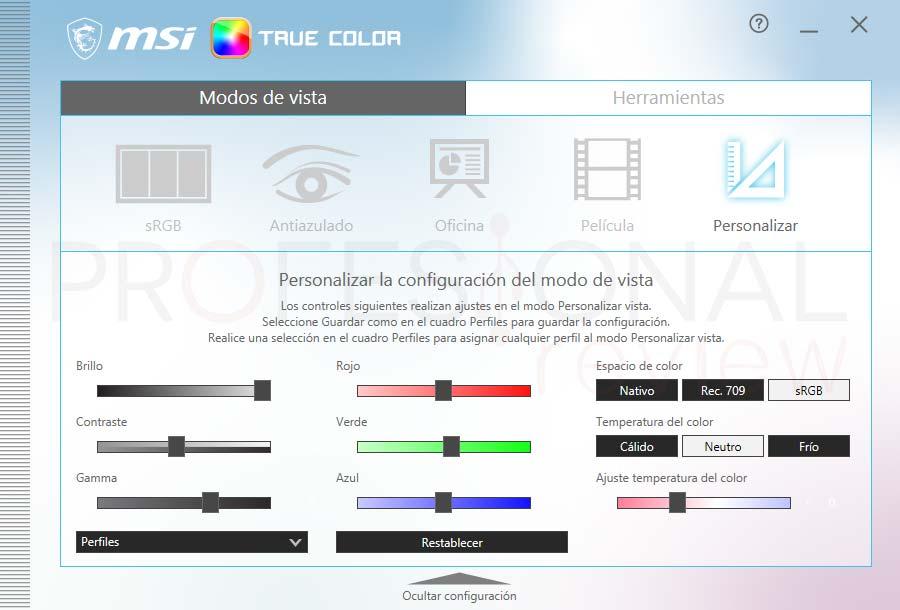 MSI Creator 15 A10SET Software