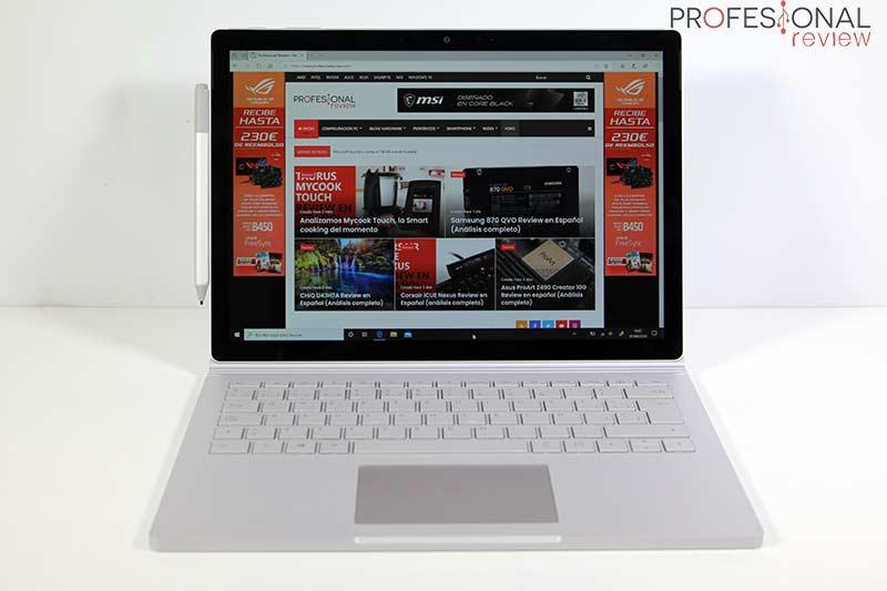 Microsoft Surface Book 3 Pantalla
