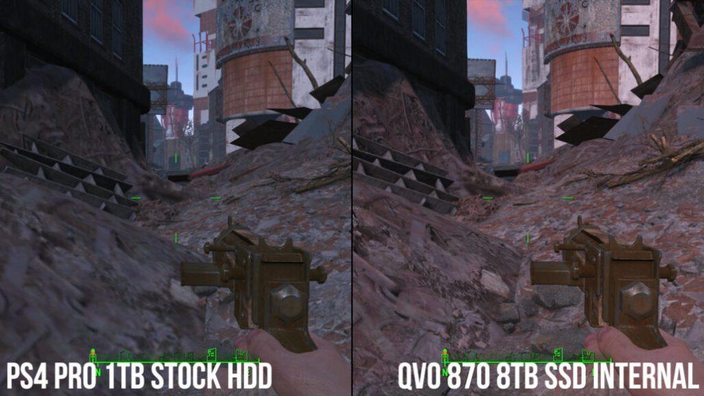 PS4 Pro y SSD 8TB pop-in