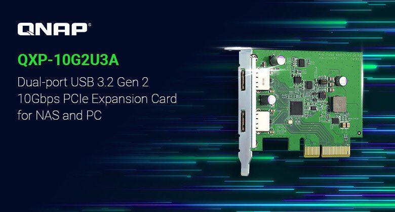Photo of QNAP QXP-10G2U3A es una nueva tarjeta de expansión USB 3.2 Gen 2