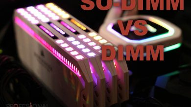 Photo of Diferencias entre la Memoria RAM SO-DIMM vs DIMM
