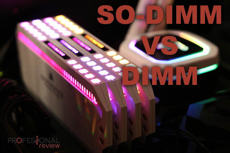 RAM SO-DIMM vs DIMM