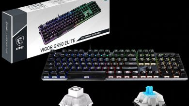 Photo of MSI anuncia el teclado Vigor GK50 ELITE con switches Kailh Box, el ratón Clutch GM08 y un reposamuñecas