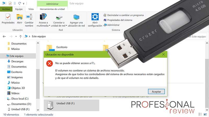 Formatear USB RAW a FAT32 paso01