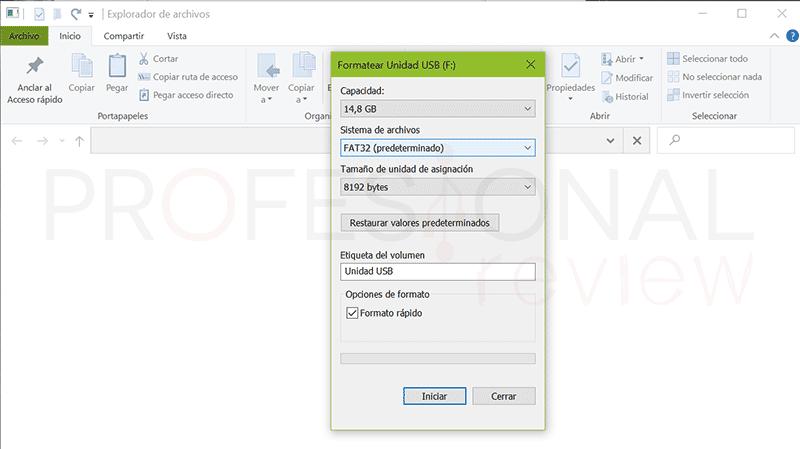 Formatear USB RAW a FAT32 paso02