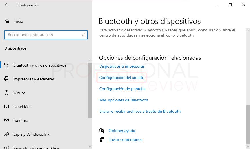 Probar micrófono en Windows 10 paso03