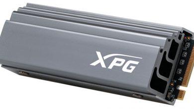 Photo of ADATA XPG GAMMIX S70 SSD, ofrece velocidades de hasta 6400 MB/s