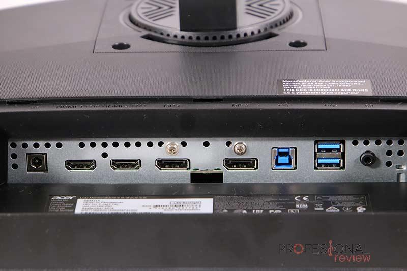 Acer ConceptD CP3 Puertos
