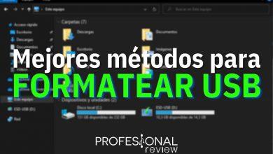 Photo of Cómo formatear una memoria USB [MEJORES FORMAS]