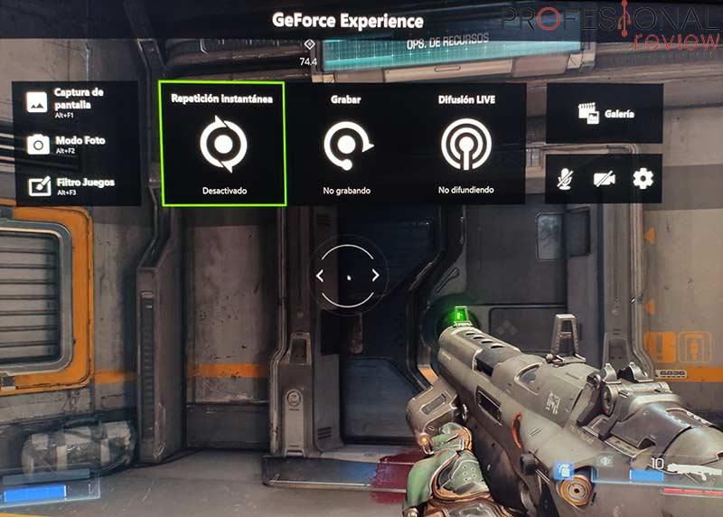 GeForce Experience no graba