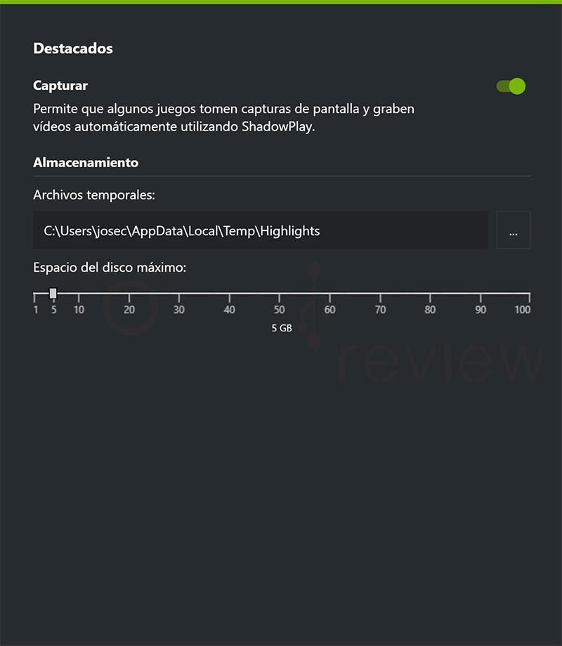 GeForce Experience no graba paso09