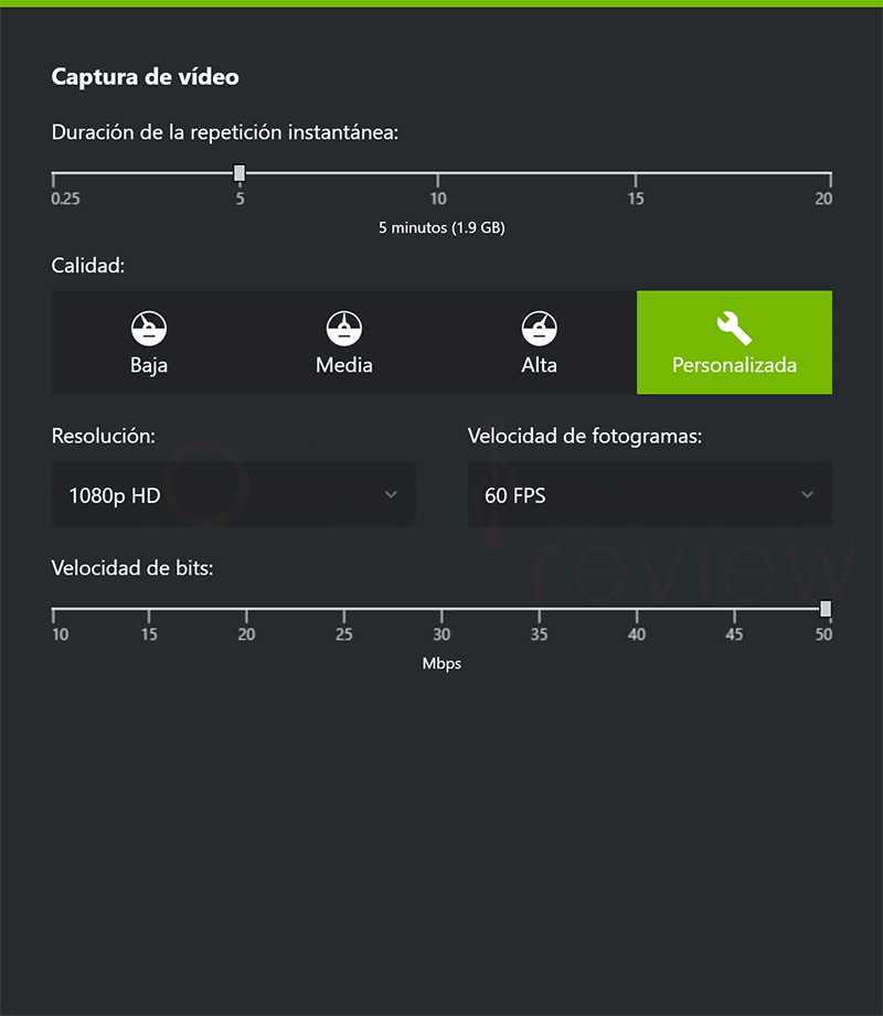 GeForce Experience no graba paso11