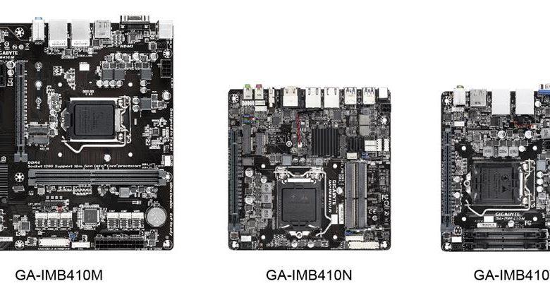 Photo of Nuevas placas base Gigabyte IoT H410 para aplicaciones profesionales