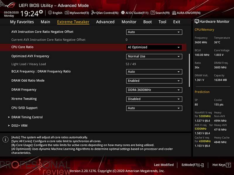 Intel Core i9-10850K AI Optimized