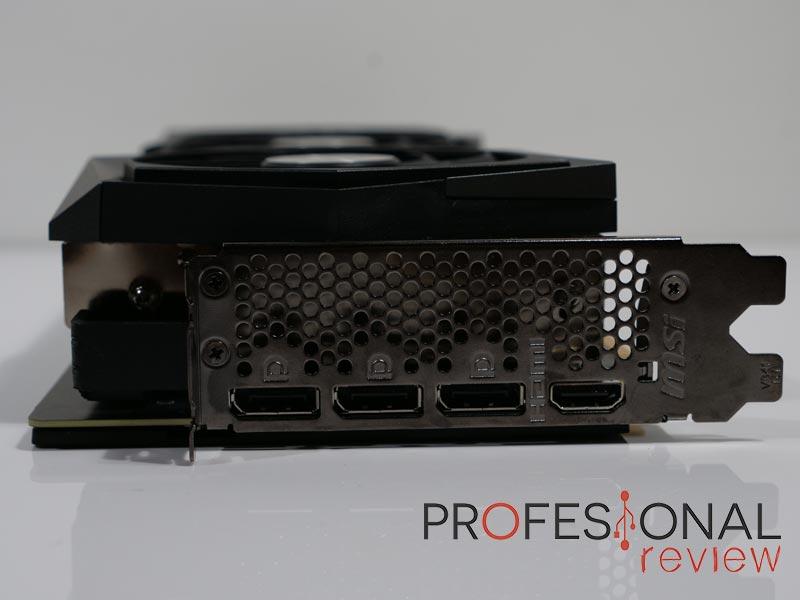 MSI RTX 3080 Gaming X Trio Puertos