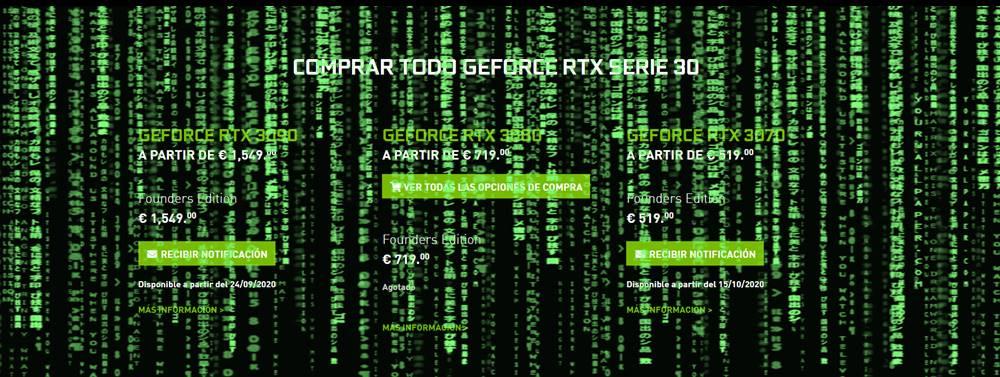 NVIDIA responde críticas RTX 3080