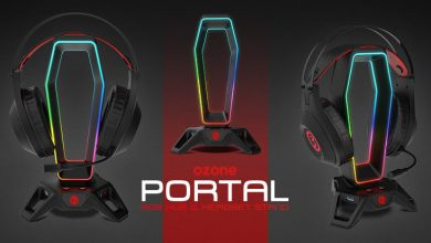 Photo of Ozone presenta Portal, un soporte gaming RGB para auriculares